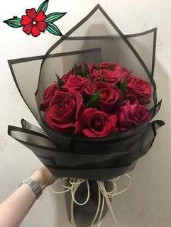 Promotion Now 20 stalk simple Bouquet