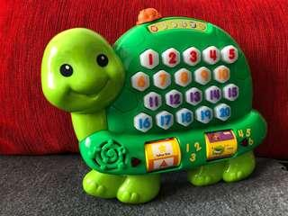 Vtech Count and Learn Turtle Toy