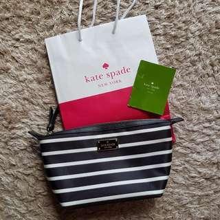 Genuine Kate Spade makeup pouch / makeup bag