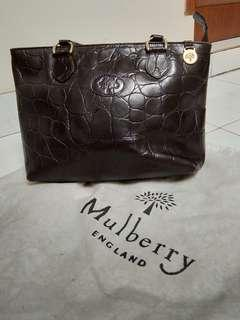 Mulberry brown bag - mirror