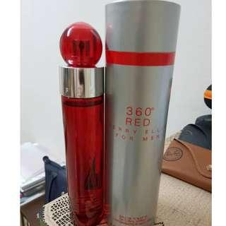 100% Genuine / Original Perry Ellis 360 Red for Men EDT 100ml (Not a tester)
