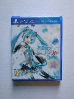 Hatsune Miku Project DIVA X HD PS4