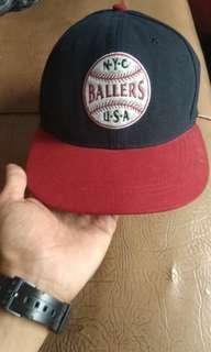 topi baseball N.Y.C bukan adidas