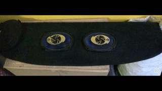 Bigbody Custom Backboard (No Speakers)
