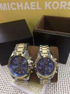 🕰 MICHAEL KORS WAT H COLLECTION WITH BOX AND PAPER BAG 🕰