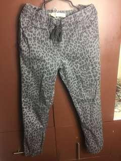 Cotton On Pants (cheeta print fits 27 -28)
