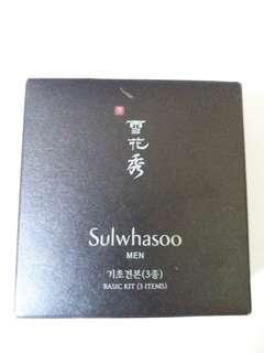 Sulwhasoo ( MEN) basic kit (items)