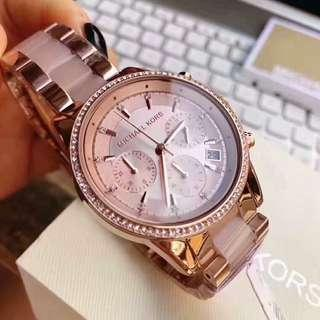 🕰 MICHAEL KORS WATCH COLLECTION WITH BOX AND PAPER BAG 🕰