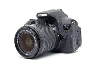 Canon 700d with 18-55mm EF-S IS STM (Complete package)