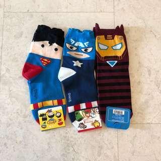 Superhero Socks Instock