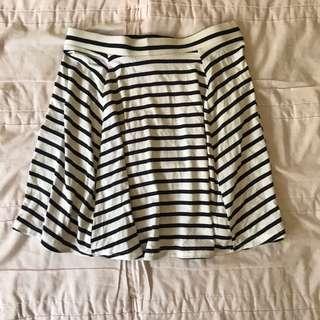 Cotton on Stripes skirt
