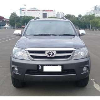 Toyota Fortuner 2.5 G Manual Diesel 2008