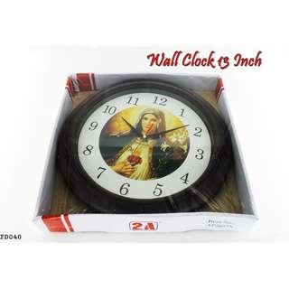Wall Clock 13 Inch #FD040