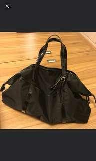 agnes b 黑色大size袋