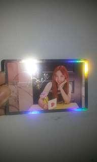 [WTS fast ] Official Nayeon Photocard Signal Twice