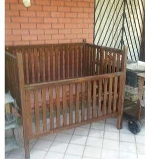 Antique Baby Cot ( Over 60 years old )
