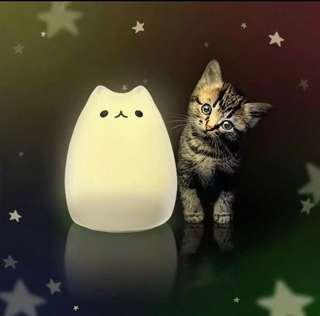BNIB ZNT Adorable Cat Rechargeable Lamp