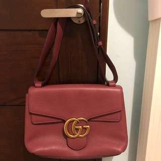 🚚 Gucci marmont gg bag 全皮肩背包保證正品