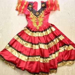Flamenco Spanish costume