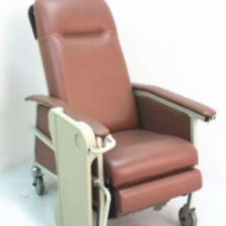 Reclining Geriatric Chair with table
