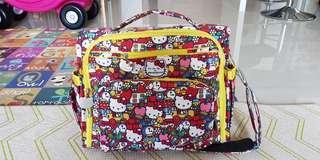 Hello Kitty Tick Tock BFF Diaper Bag