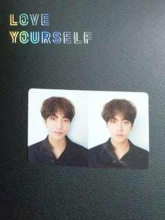BTS LY Love Yourself Tear Official Photocatd - V / Taehyung
