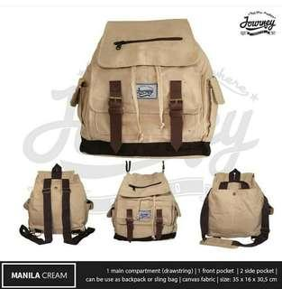 Tas Punggung / Sling Bag Journey Manilla