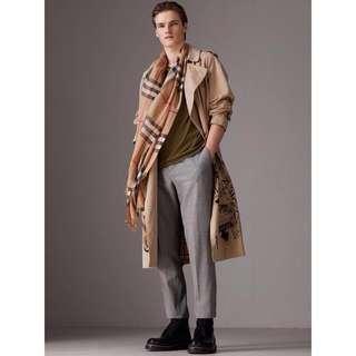 Burberry wool and silk scarf #XMAS25