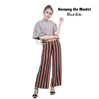 norway cullotes stripe pants