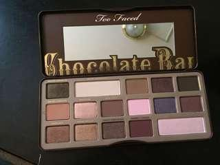 Too face chocolate bar