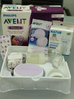 Alat Pumping Philips Avent Single Electric
