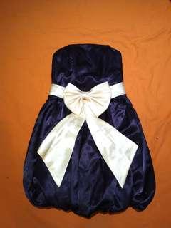鍛面平口洋裝 #半價衣服市集