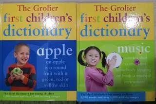 Grolier First Children's Dictionary