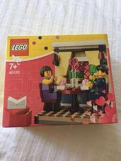 Lego Seasonal Valentine's Dinner