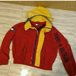 Tommy Hilfiger spell out jacket