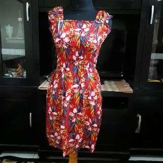 Midi Dress Bali Kerut (3)