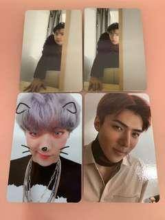EXO Sehun Chanyeol photocard