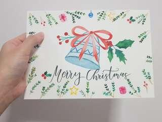 [CUSTOMISE] Christmas Bells Card