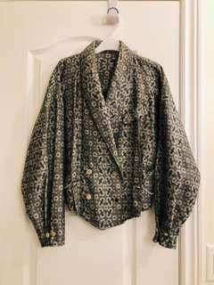 Vintage jacket with chain detail