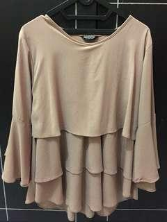 Baju blouse cream