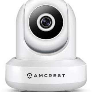 🚚 Amcrest 720P WiFi Video Monitoring Security Wireless IP Camera with Pan/Tilt, Two-Way Audio, Plug & Play Setup, Optional Cloud Recording, Full HD 720P (1280TVL) @ 30FPS, Super Wide 85° Viewing Angle and Night Vision IPM-721W