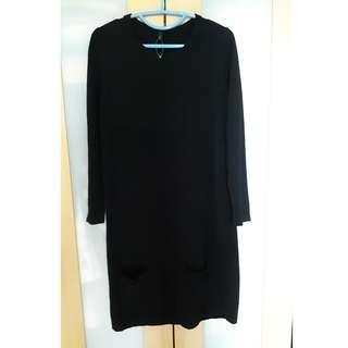 United Colors of Benetton Dress in Wool