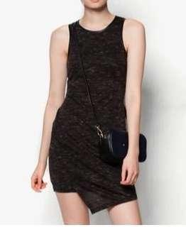 Textured Fitted Dress (Small)