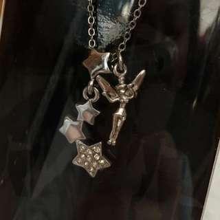 (新年大減價)全新 迪士尼奇妙仙子Tinker Bell 頸鏈 Necklace