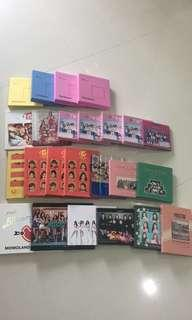 [CLEARING] WTS Twice, IOI, Momoland, Gugudan and Pristin Unsealed albums