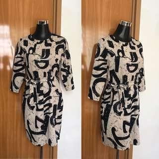 Printed Tieable Dress