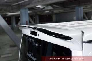 ready stock SAD spoiler for hi roof and Low roof Hiace euro 3 to euro6