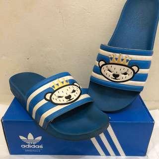 Adidas x Nigo Slides