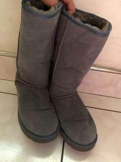 🚚 澳洲正品 Ugg 高筒 長靴 灰色