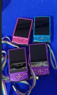 Canon PC1676 IXUS 8X optical zoom (pink and blue)@$30 each